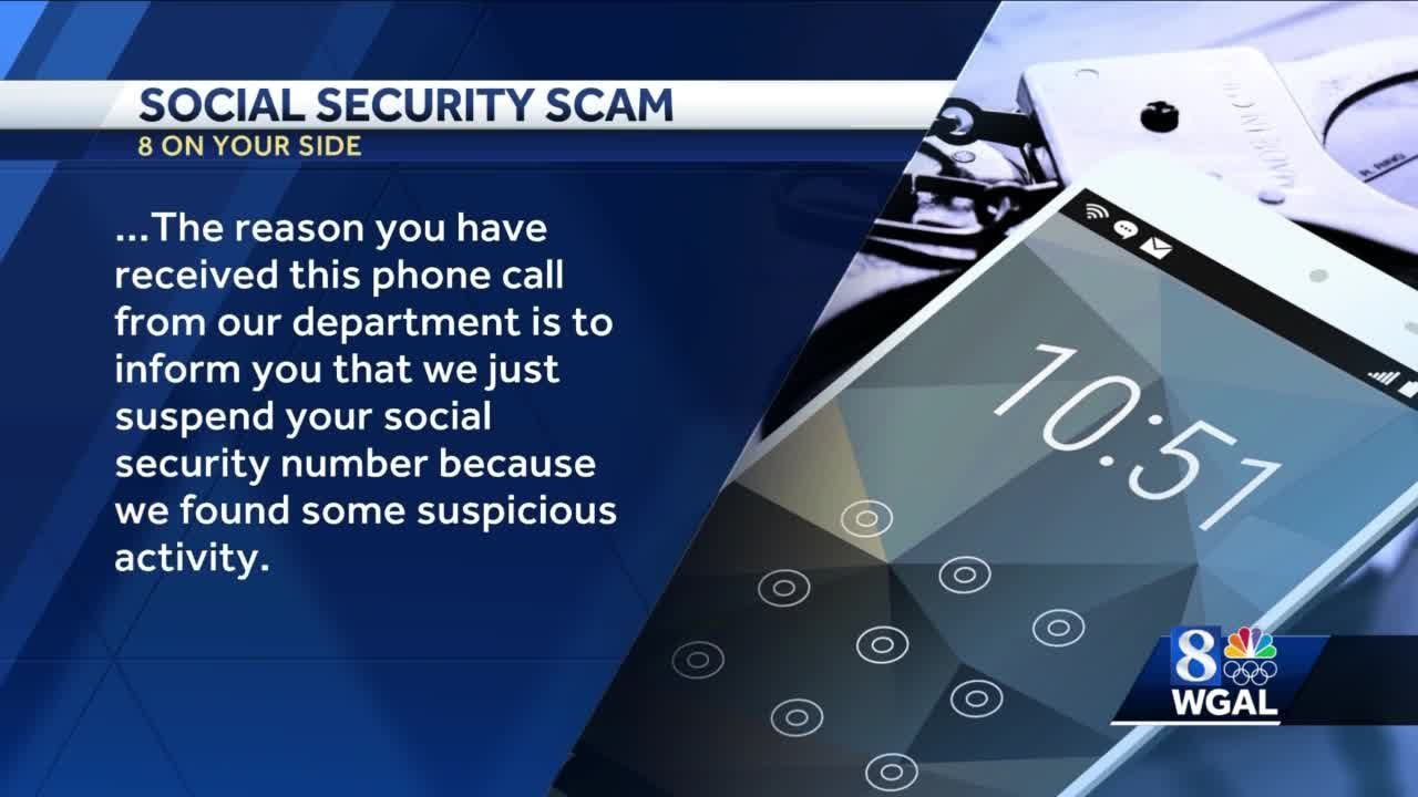 social security number suspended suspicious activity