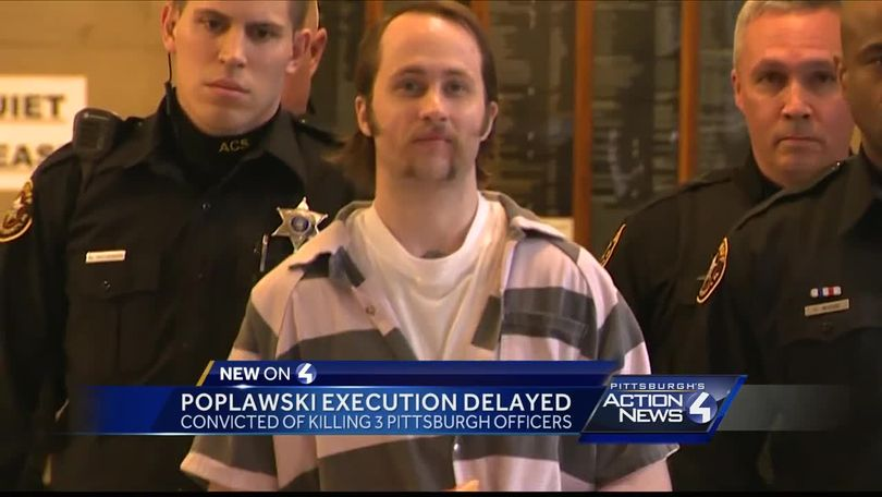 Execution stayed for convicted cop-killer Richard Poplawski