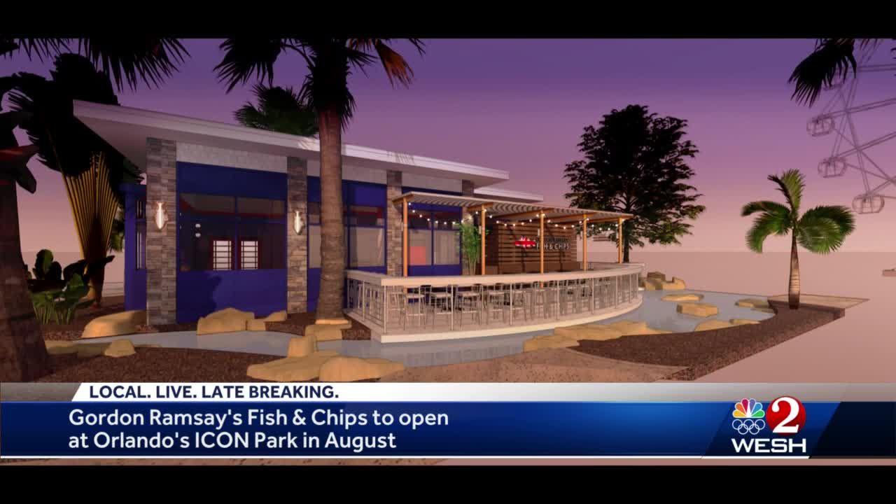 Gordon Ramsay opening restaurant in Orlando