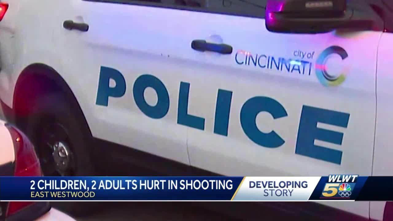 2 children, 2 adults hurt in shooting
