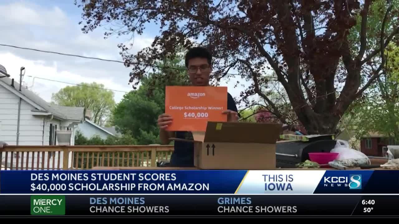 Des Moines student scores $40K Amazon scholarship