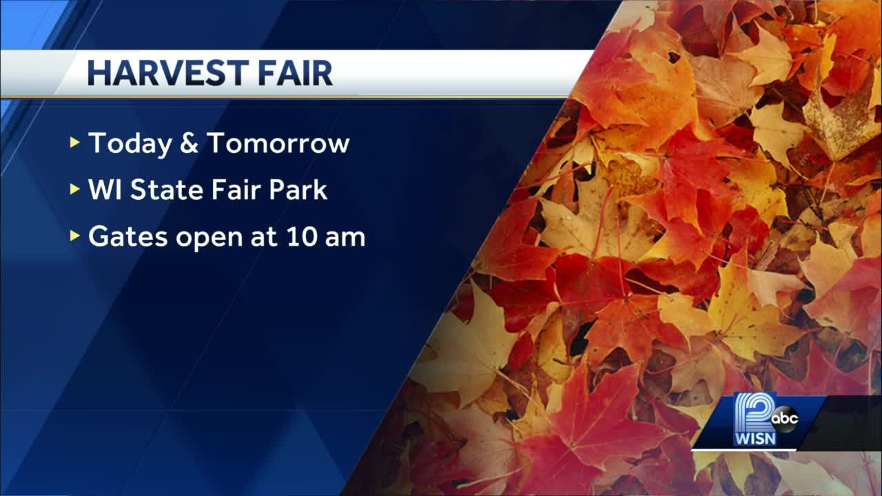Harvest Fair taking place this weekend