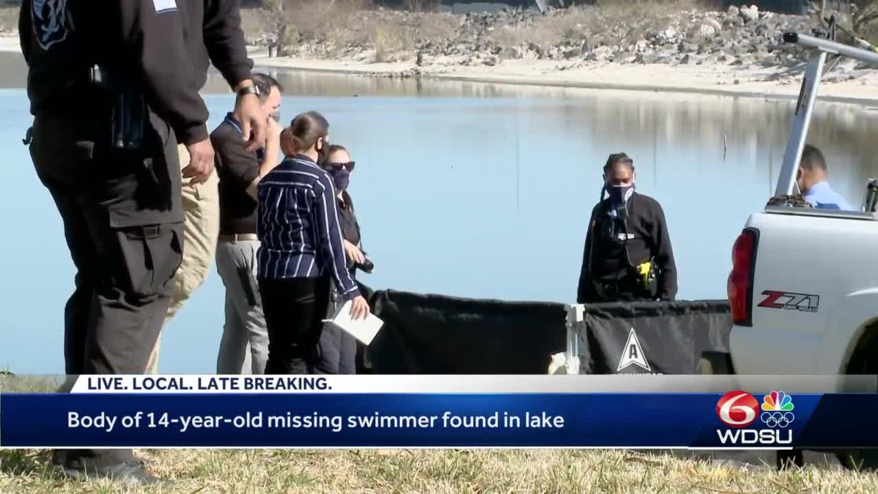 Body of 14-year-old missing swimmer found in lake