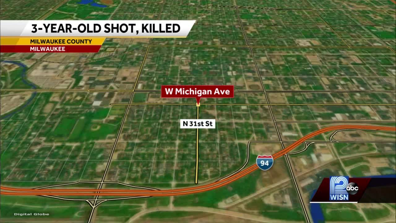 MPD: 3-year-old shot, police search for known suspect