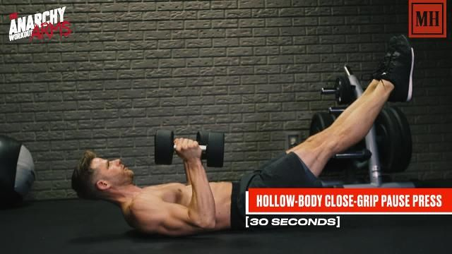Chisel Your Triceps And Build Your Six-Pack All At Once