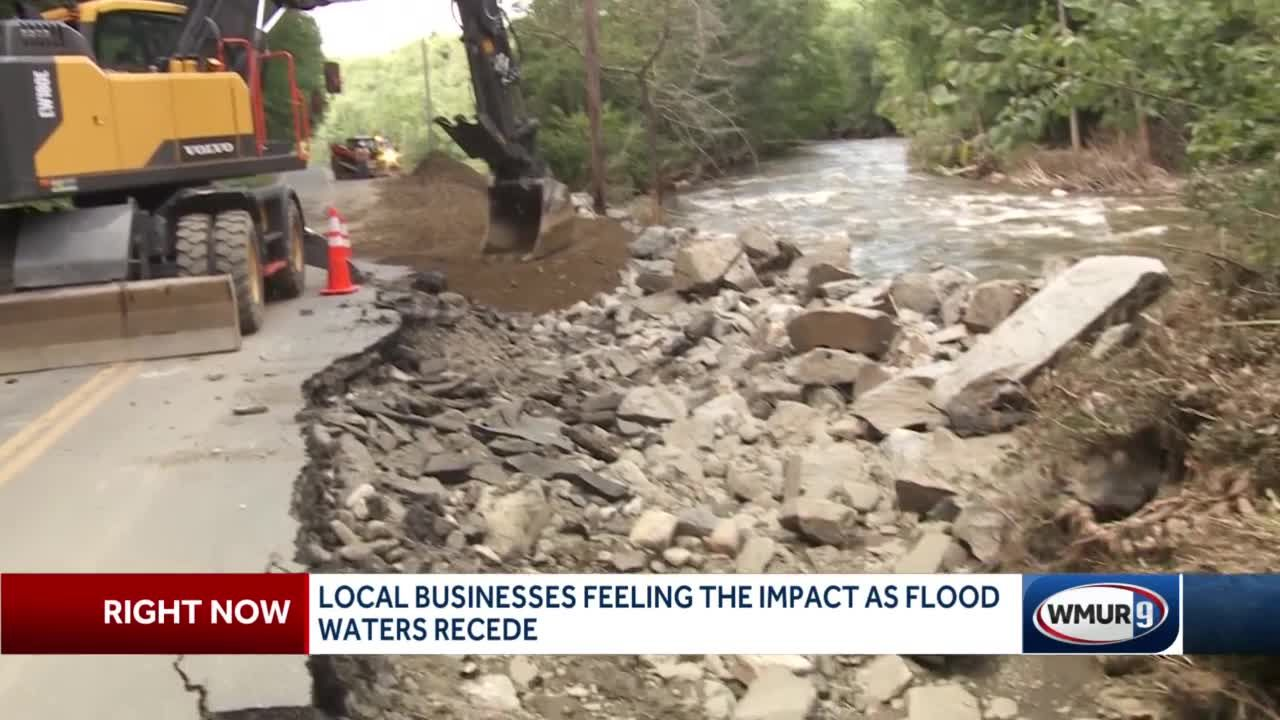 Local businesses feeling the impact as flood waters recede