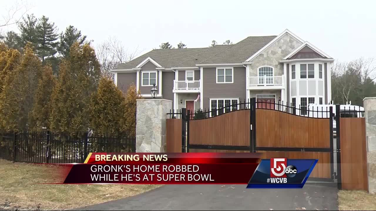 Gronk S Home Robbed During Super Bowl Week