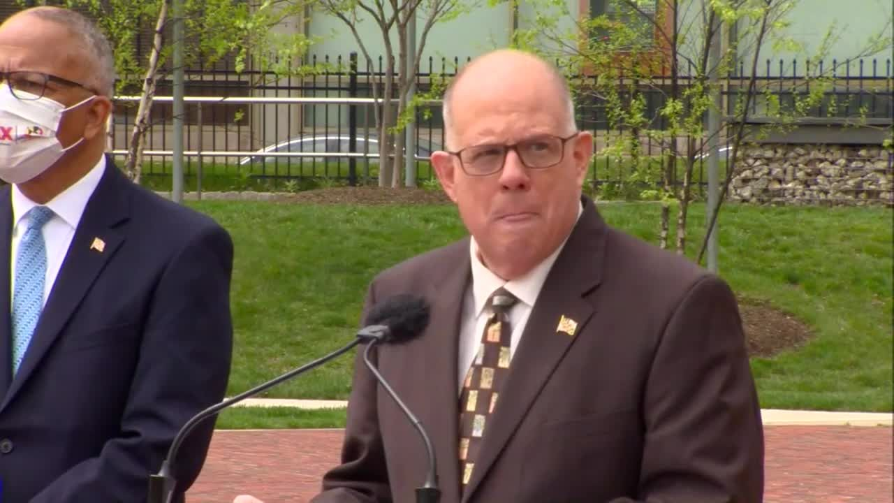 Raw: State to relocate 3,300 employees to downtown Baltimore