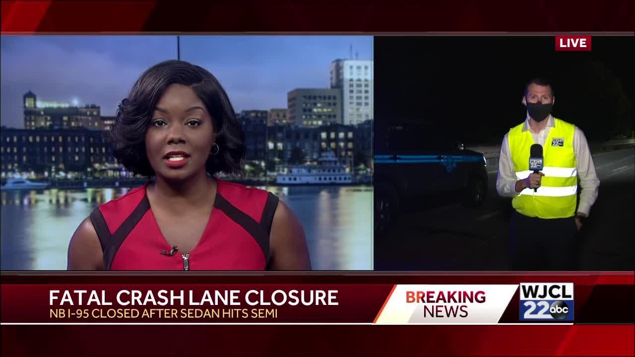 Deadly crash shuts down part of I-95
