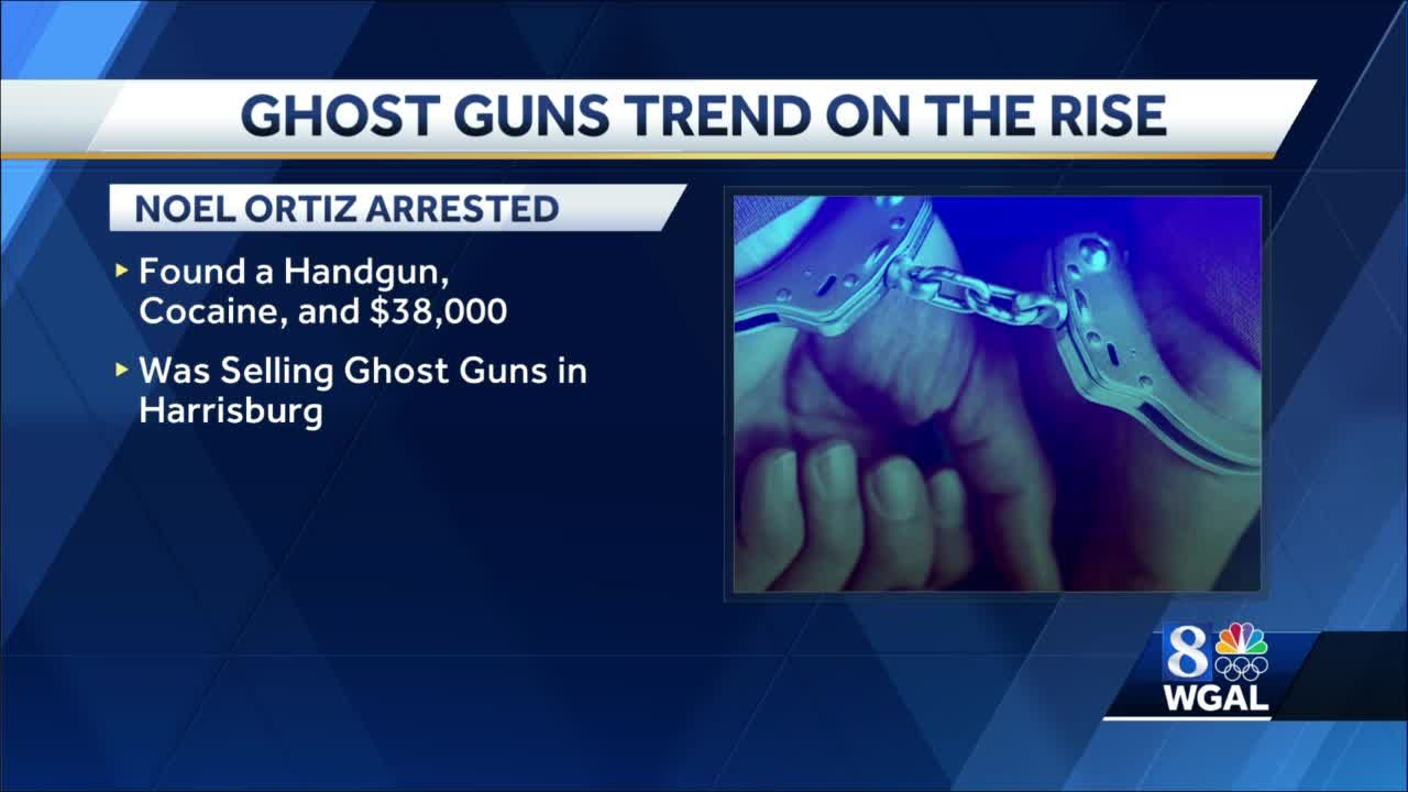 Ghost guns on the rise in Harrisburg