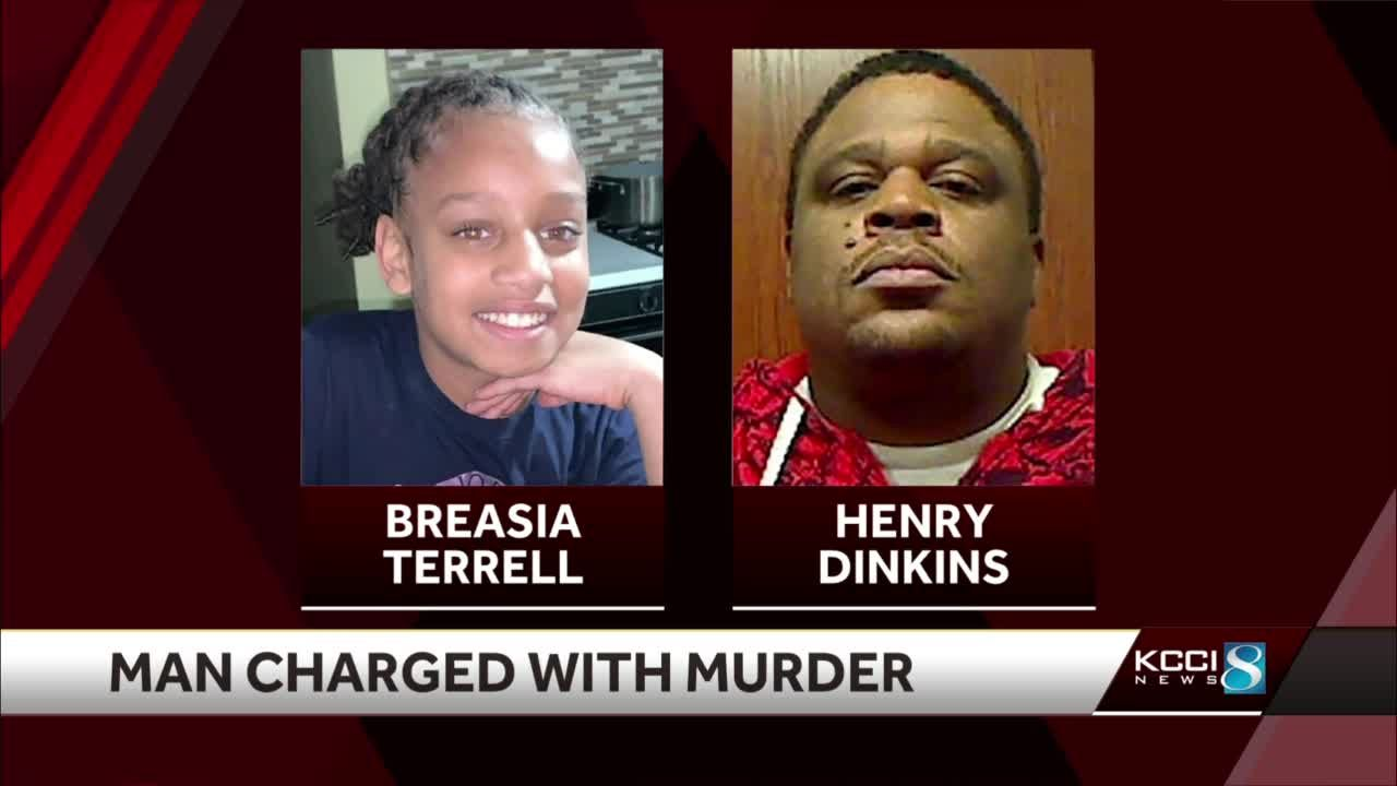 Henry Dinkins charged in death of 10-year-old Breasia Terrell