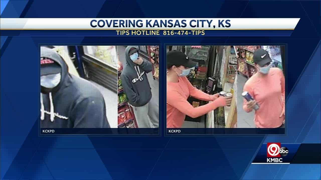 KCK police want to ID 2 people in aggravated robbery case