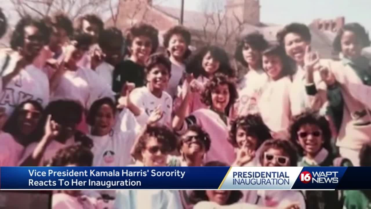 AKAs celebrate inauguration of Vice President Kamala Harris