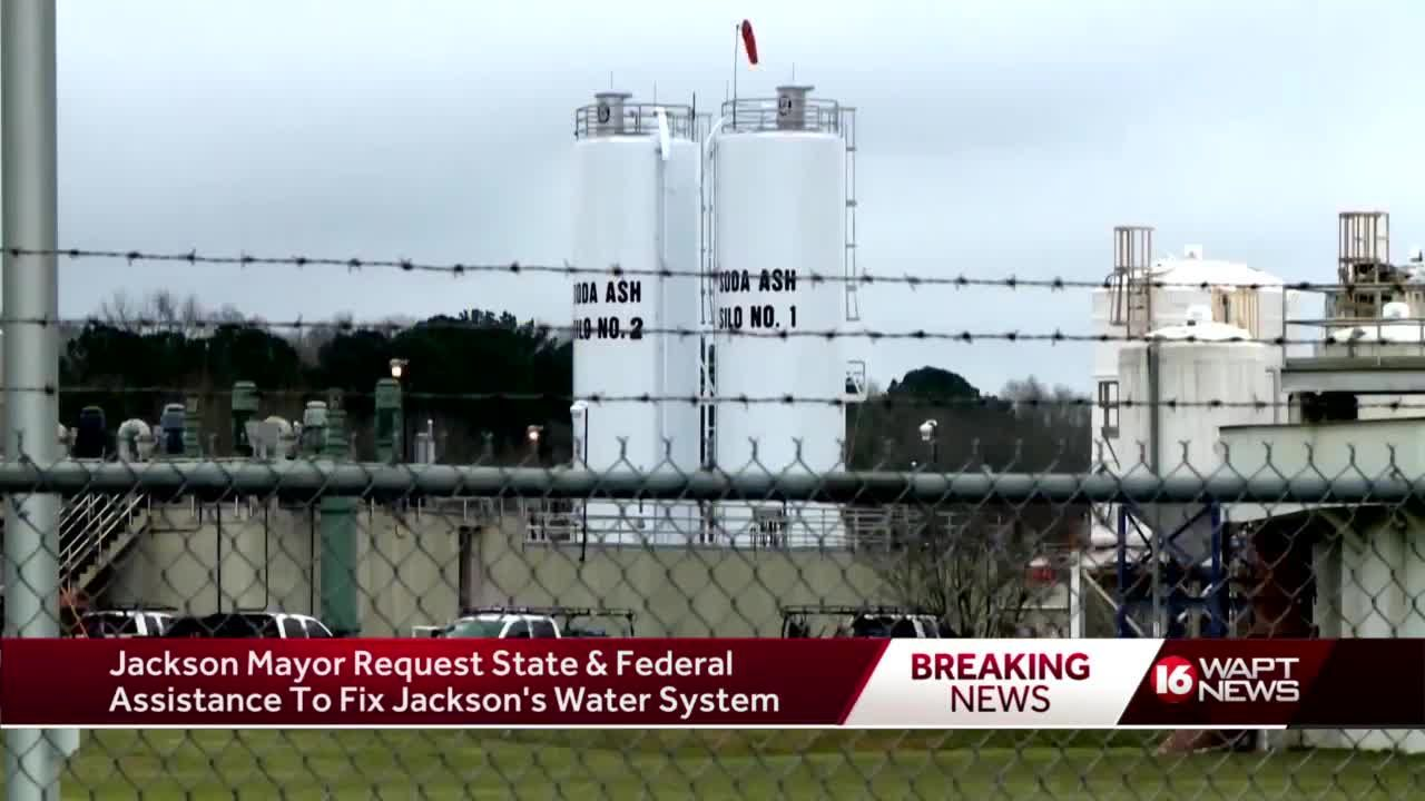 Mayor pens letter to governor asking for help with Jackson water crisis