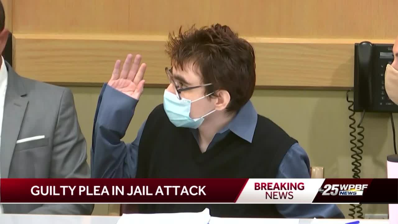 Nikolas Cruz pleads guilty to all charges in jail attack