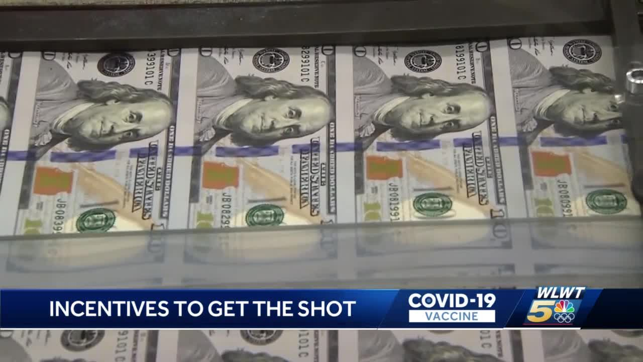 Kentucky Lottery gives away up to 225,000 tickets in exchange for COVID-19 vaccine shots