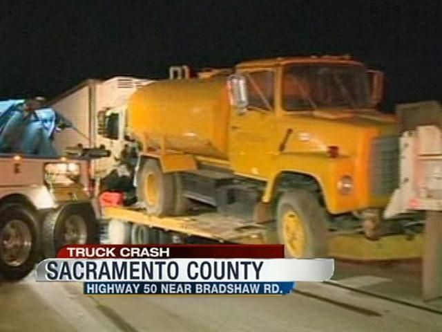 Early morning accident shuts down highway 50