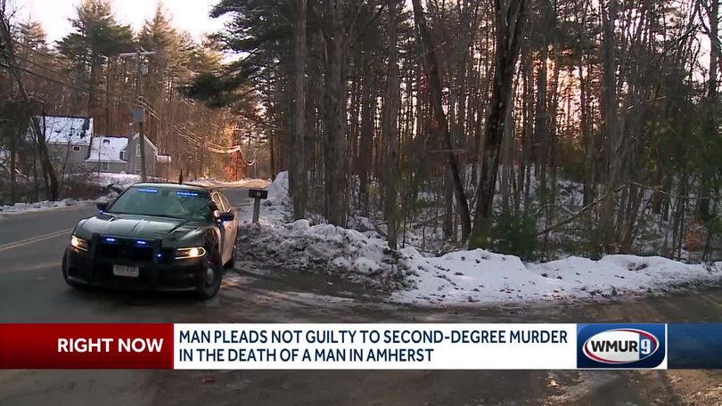 Man pleads not guilty to second-degree murder charge in Amherst shooting