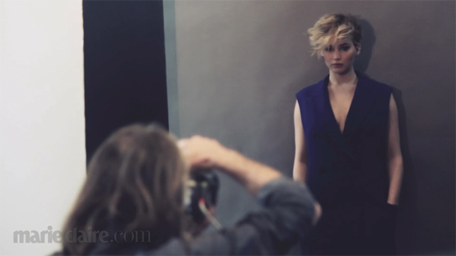Jennifer Lawrence Just Can't Help It