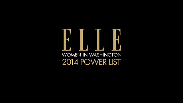 Success Secrets From ELLE's Women in Washington Power List