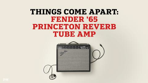 What a Fender Amp Looks Like When You Tear It Apart