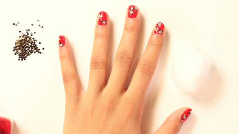 Festive Holiday Nail Art How-To