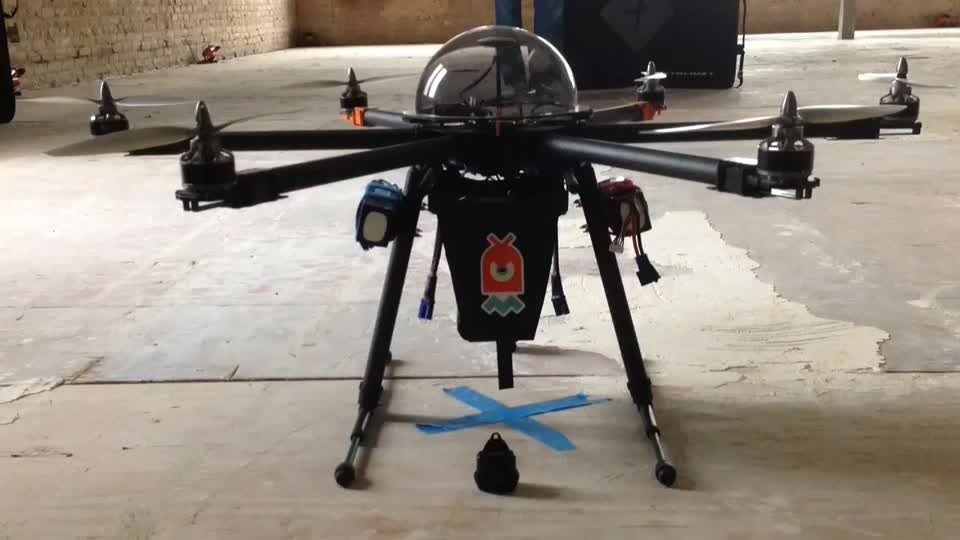 SXSW 2014: Chaotic Moon Demonstrates CUPID, a Drone That Can Tase You