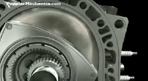 Mazda Wankel Rotary Engine   How the Rotary Engine Works