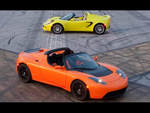 Tesla vs. Lotus: Electric Boogaloo