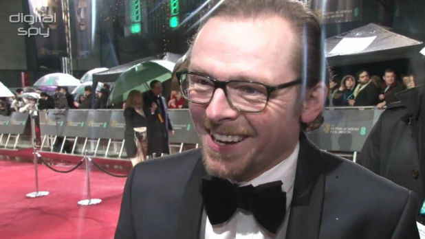 Simon Pegg 'responsible' for arrest