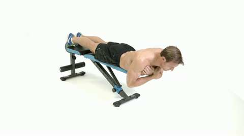 Excellent How To Do A Flat Bench Hyperextension Camellatalisay Diy Chair Ideas Camellatalisaycom