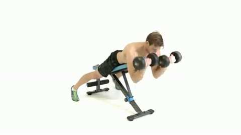 How to do the prone dumbbell spider curl