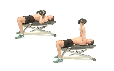 Excellent How To Do The Dumbbell Bench Press Machost Co Dining Chair Design Ideas Machostcouk