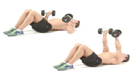 How to do the dumbbell floor press
