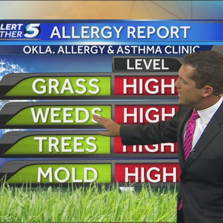 Forecast: Allergy levels high in Oklahoma