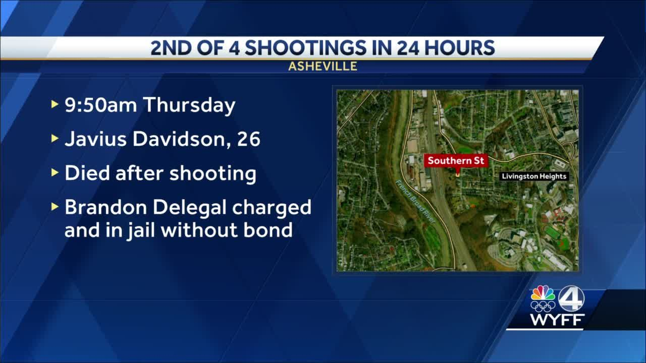 4 shootings, 1 deadly, 2 involving road rage happened in 24 hours in Asheville