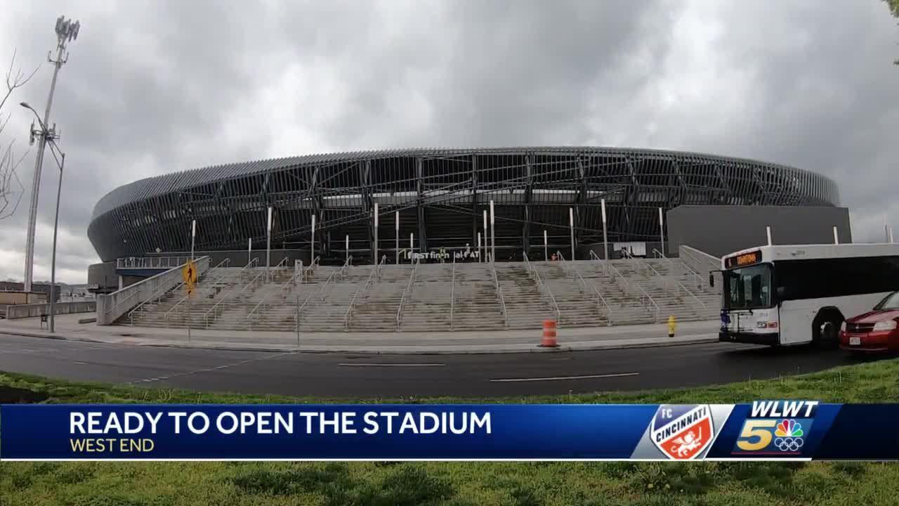 FC Cincinnati to soon debut new soccer stadium in the West End