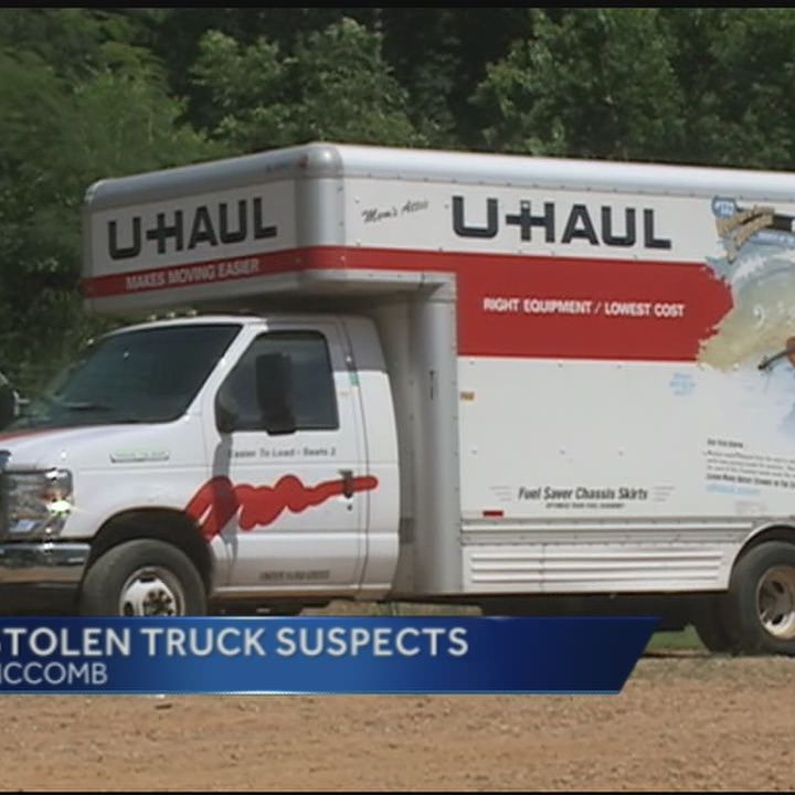 Family found living in U-Haul truck
