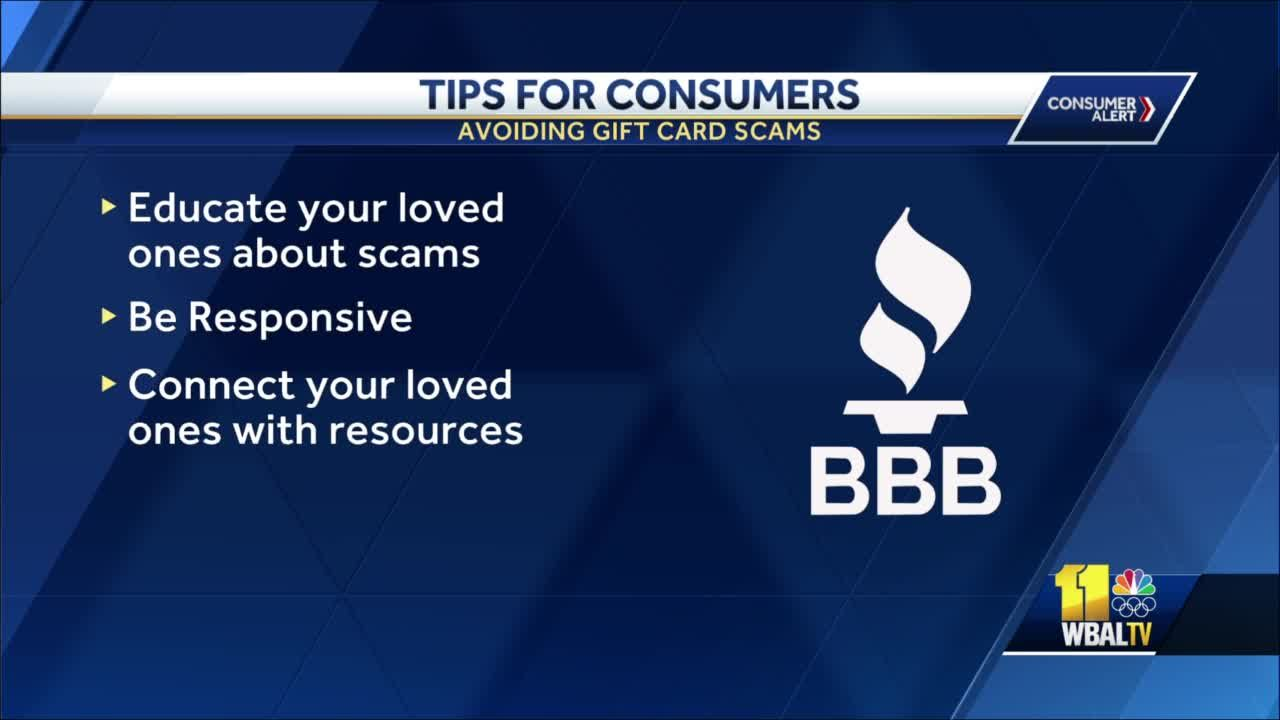 Consumer Alert: Scam warning over gift cards