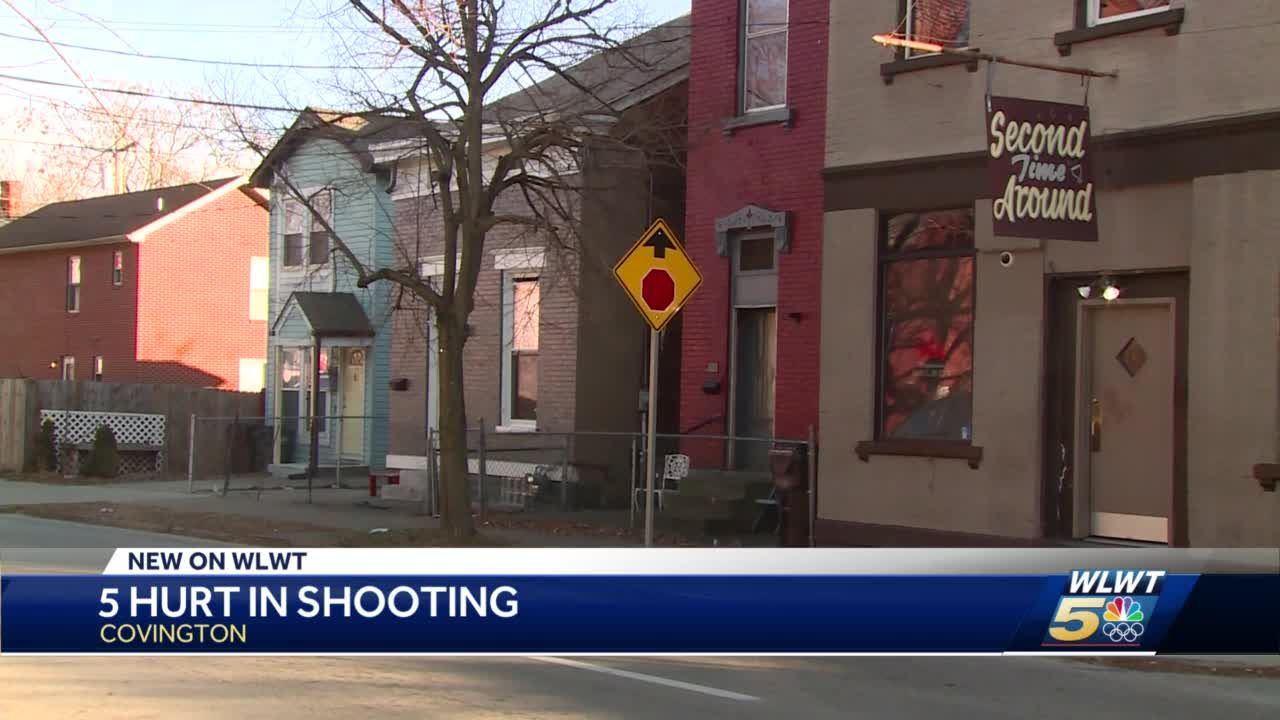 5 hurt in shooting
