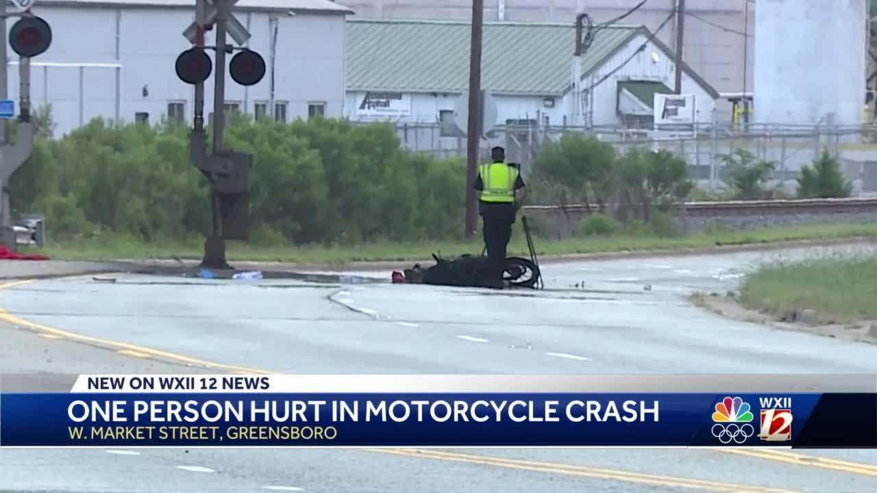 Greensboro police investigate motorcycle crash