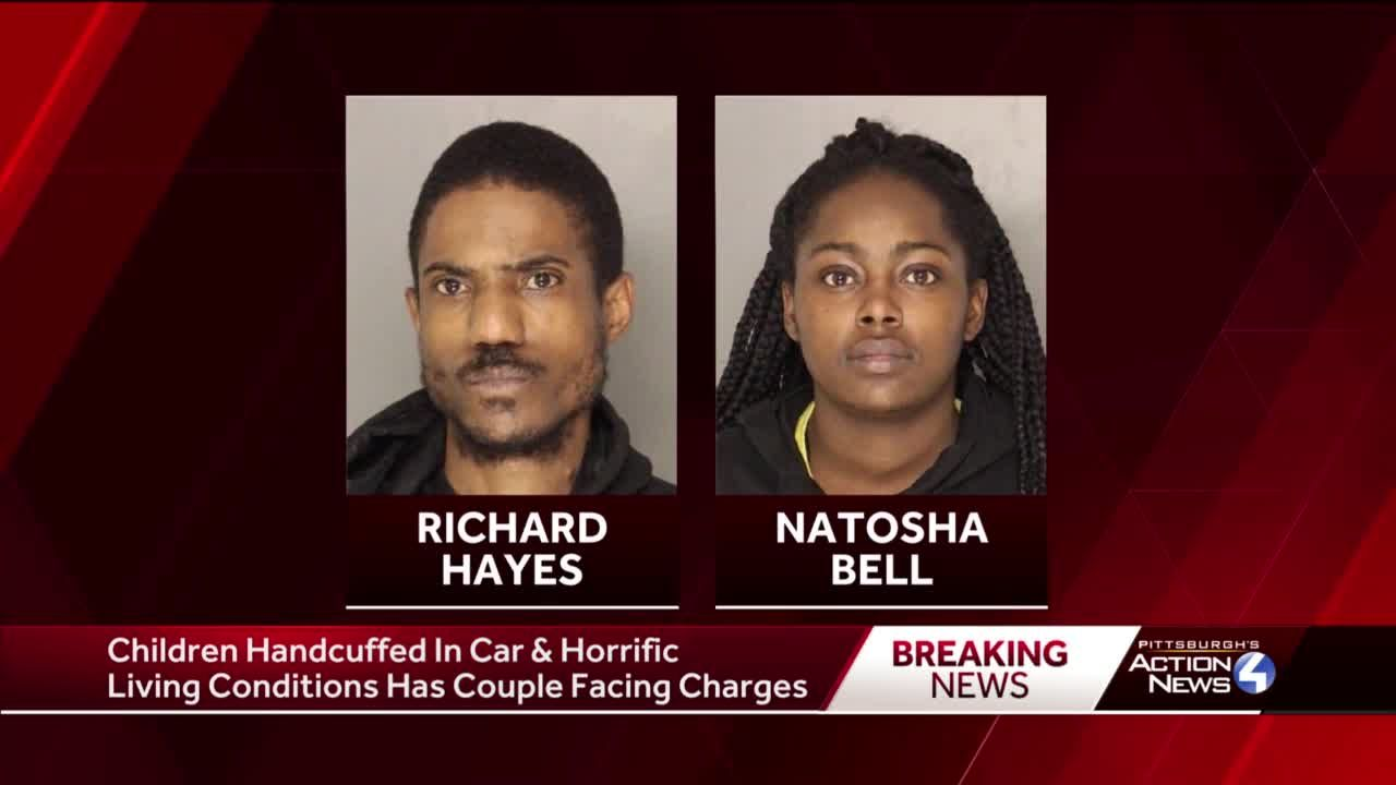Police: Couple arrested after school officials find children handcuffed inside father's vehicle