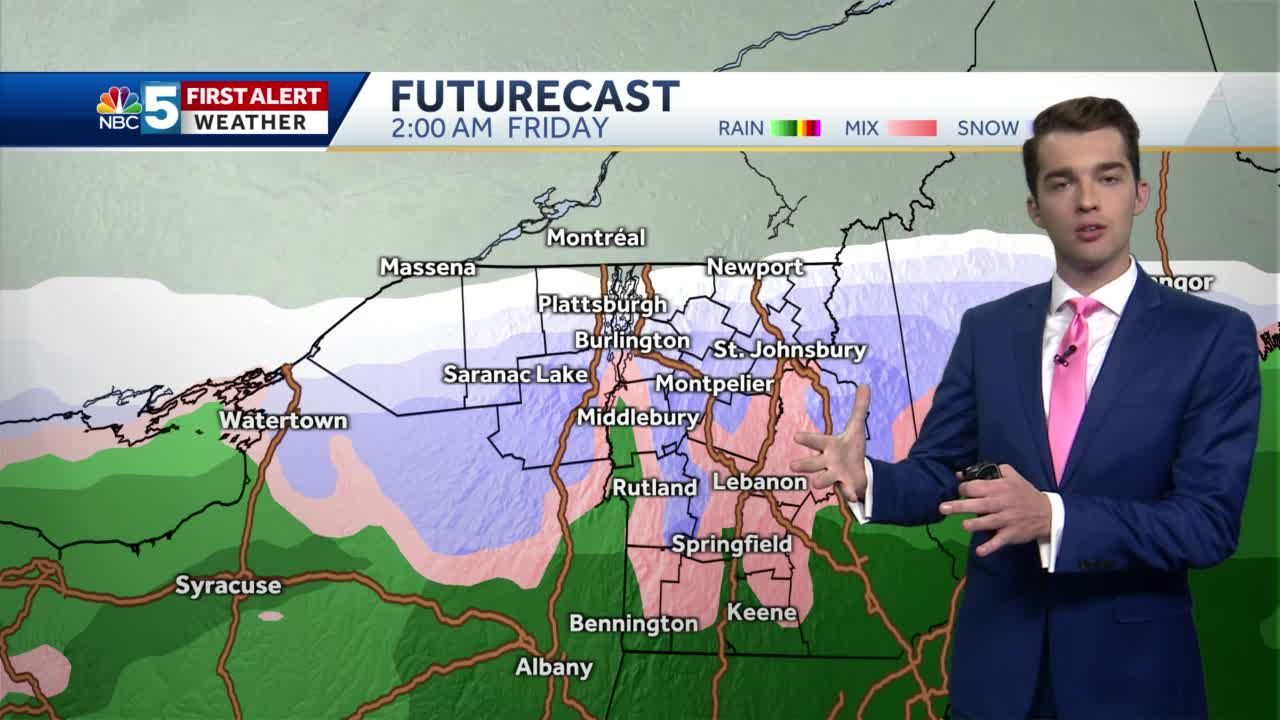 Video: Snow possible at the end of the week (10-26-20)