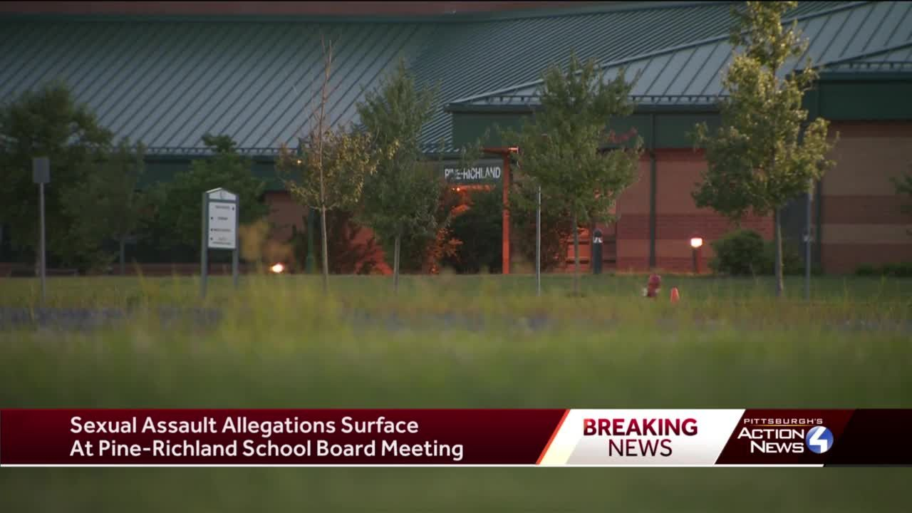Sexual assault allegations surface at Pine-Richland school board meeting