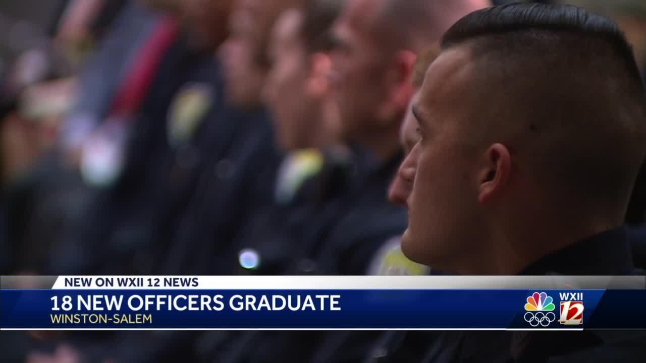 WSPD 18 officers graduate
