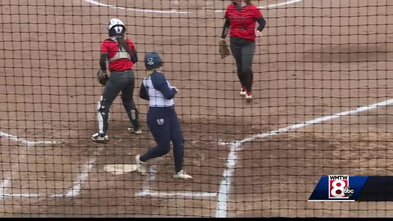 USM softball team sweeps Keene State