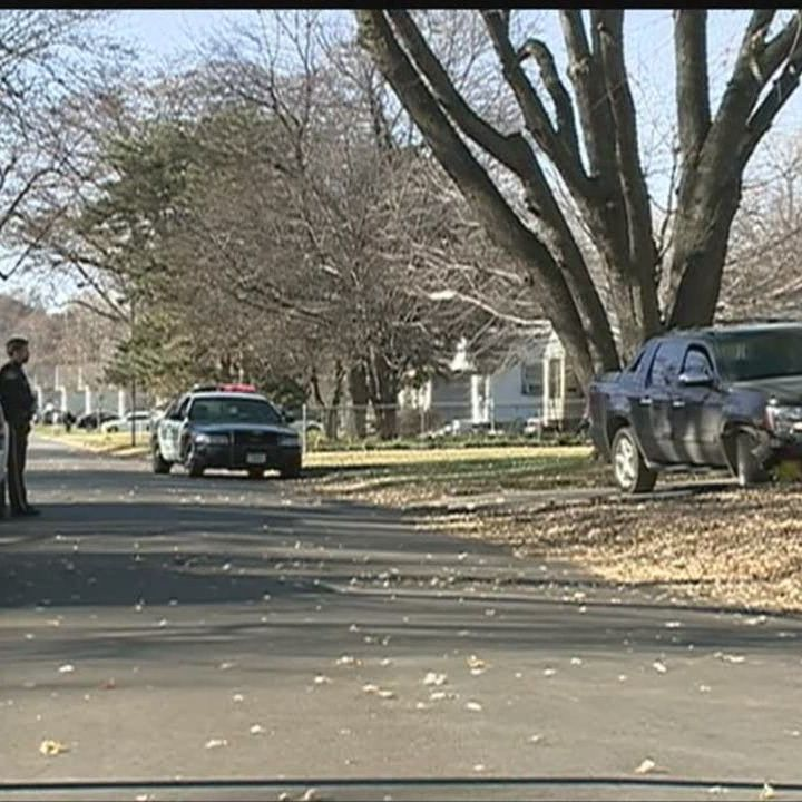 Shooting leads police on chase