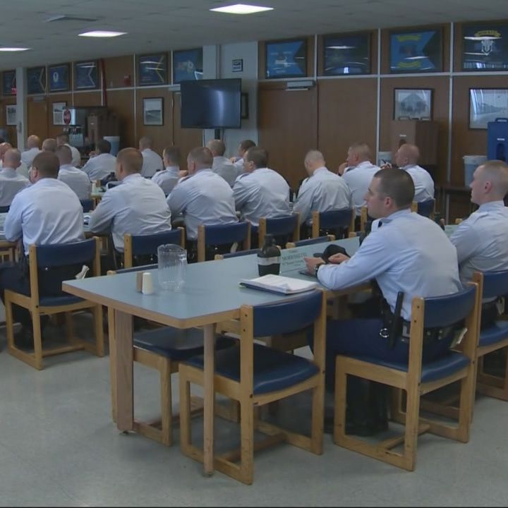 Day in the life of State Police recruit