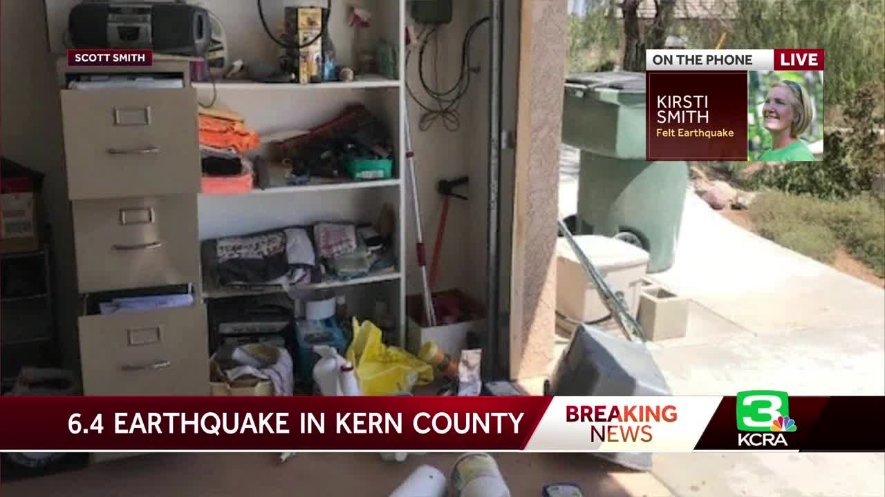 Viewers share photos of damage caused by Southern California earthquake