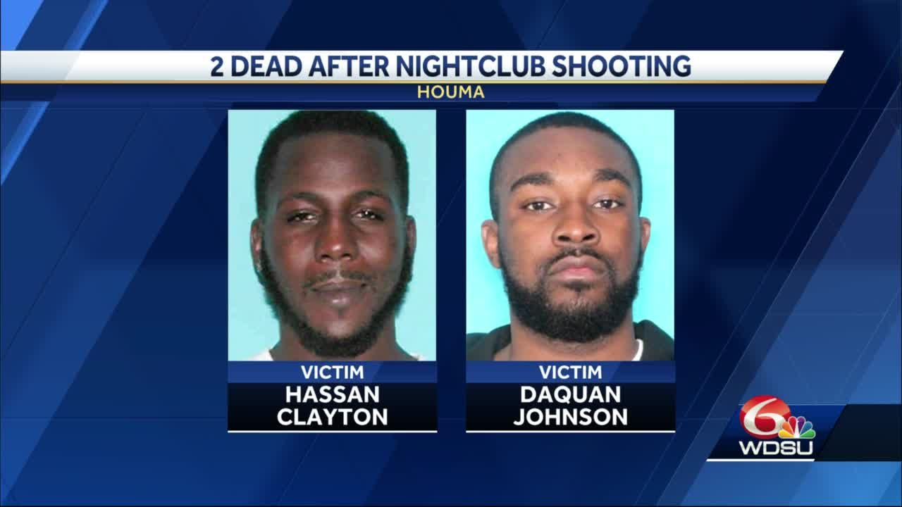 1 dead, 1 injured in Houma nightclub shooting identified
